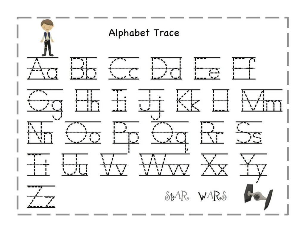 Printable Letters To Trace | Alphabet Tracing, Preschool With Pre K Alphabet Tracing Worksheets