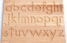 Alphabet Tracing Board Target
