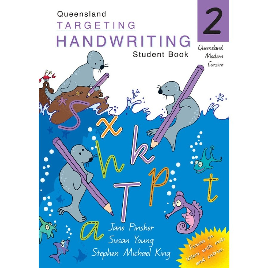 Qld Targeting Handwriting Student Book Year 2 with Queensland Alphabet Tracing