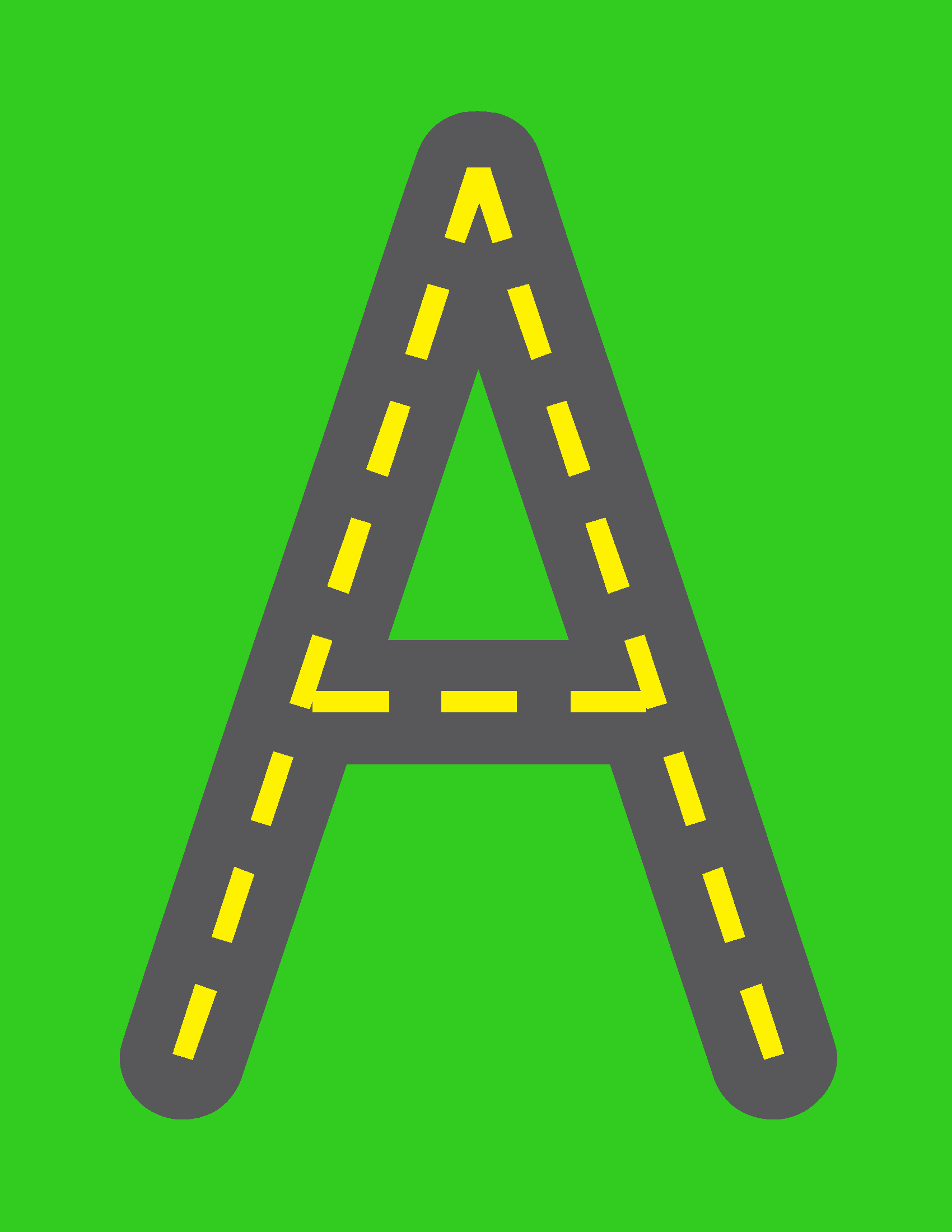 Road Letters | Lettering, Alphabet Preschool, Printable with Alphabet Tracing Road