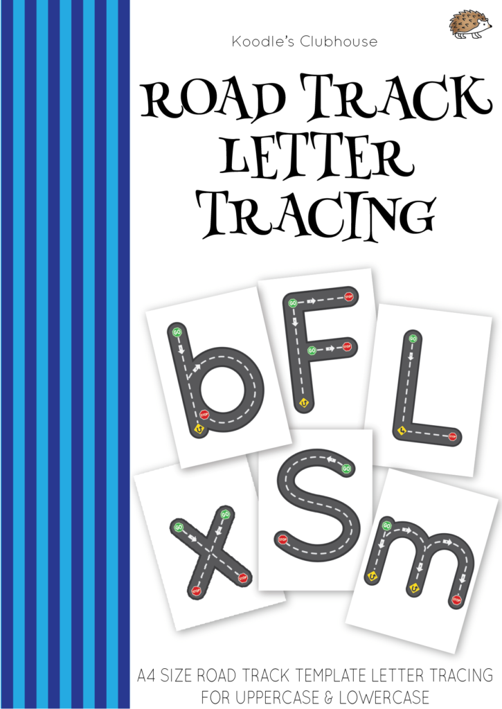 Road Track Letter Tracing | Learning To Write, Lettering Regarding Alphabet Tracing Road