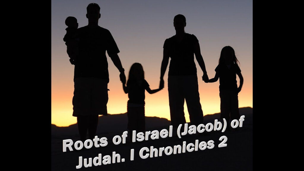 Roots Of Israel Jacob Of Judah I Chronicles 2 | Roots, Bible For Name Tracing Jacob