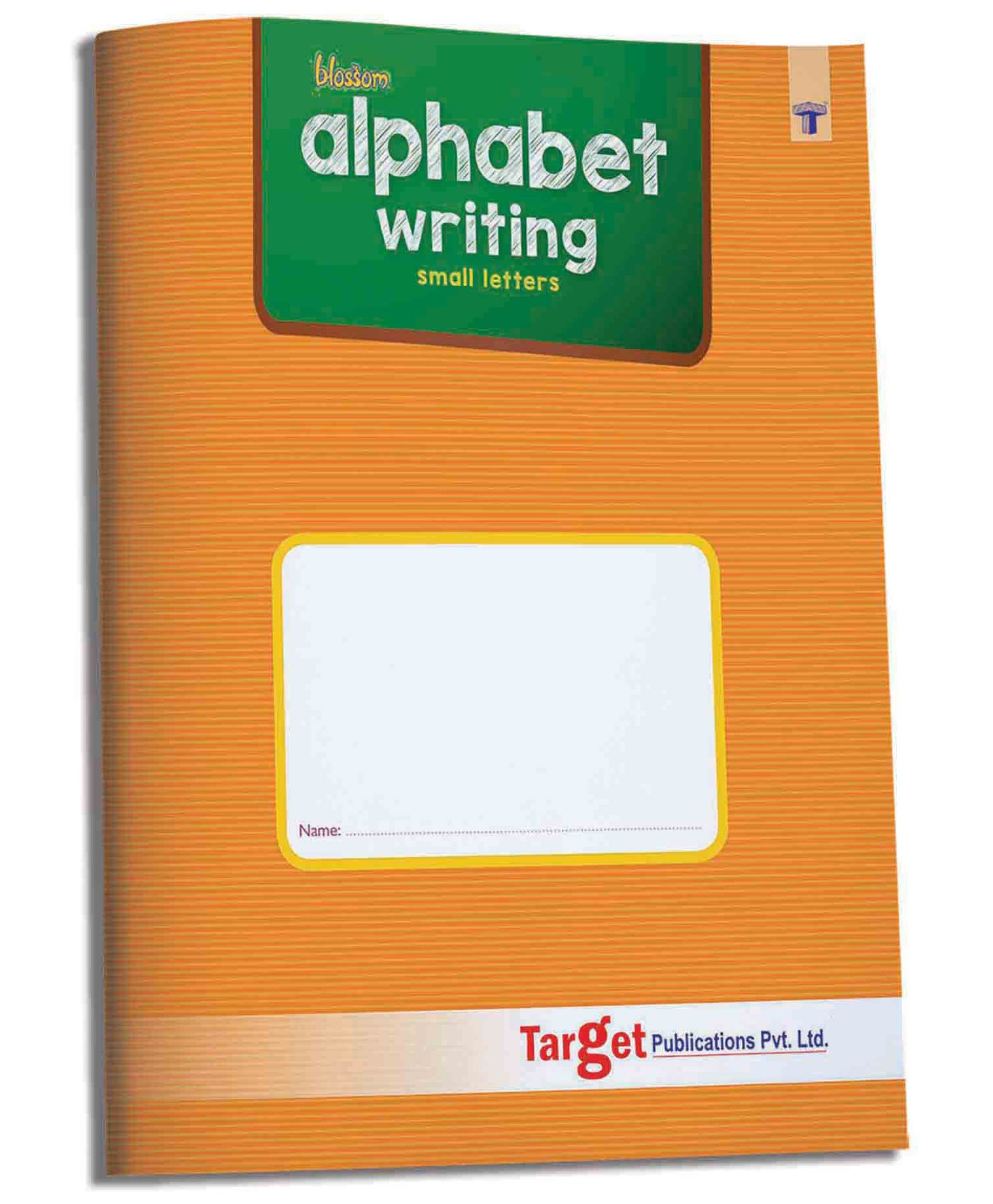 Target Publications Nurture Small Letter Tracing & Writing in Alphabet Tracing Board Target