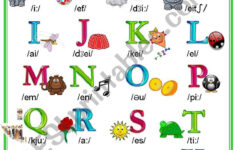 Alphabet Worksheets For Esl Learners