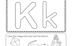 Alphabet Worksheets Kindergarten