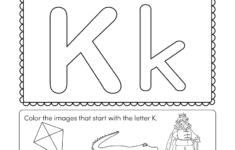 Alphabet Worksheets Kindergarten