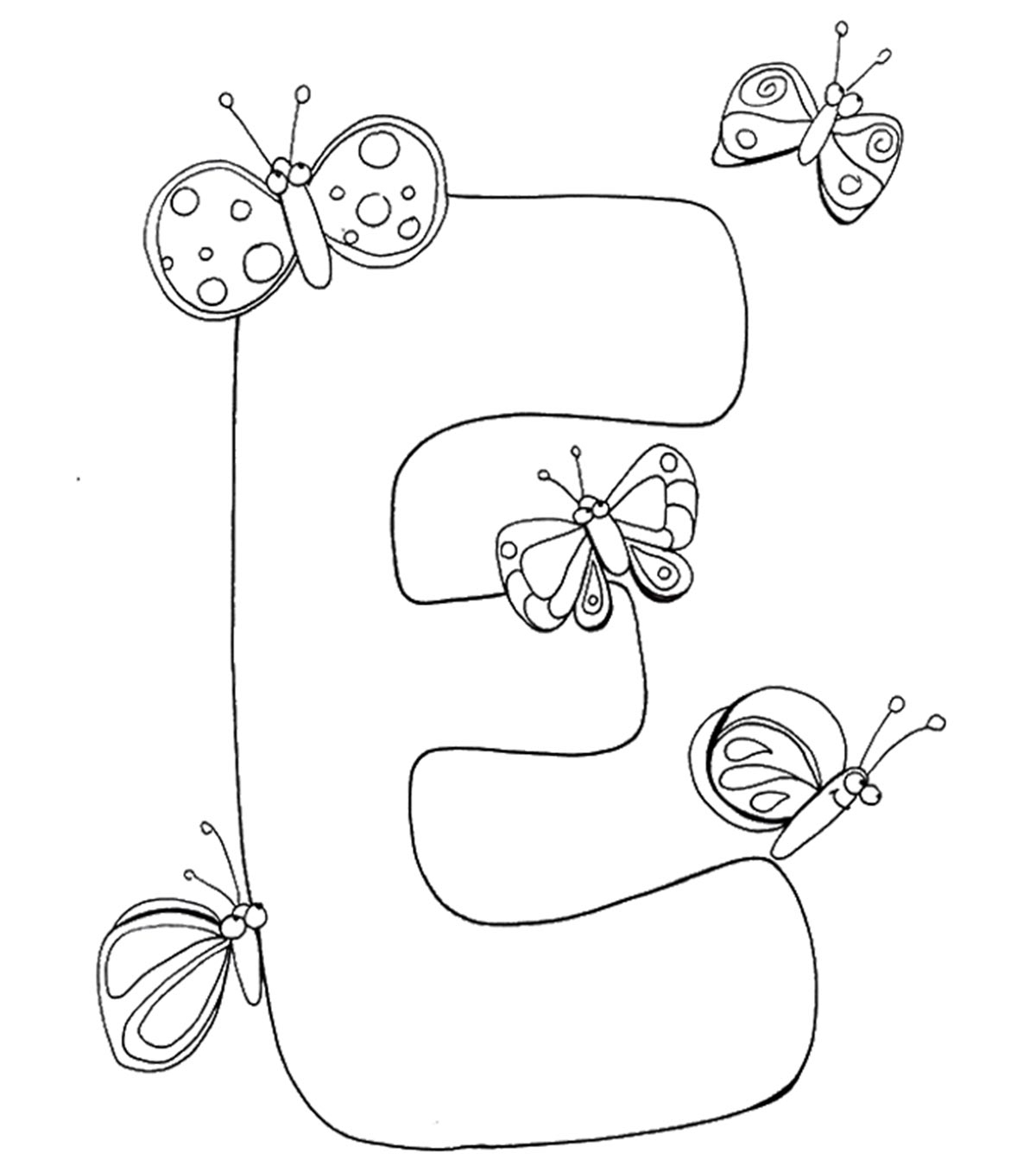 Top 10 Free Printable Letter E Coloring Pages Online pertaining to Letter E Worksheets Coloring