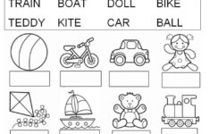 Alphabet Vocabulary Worksheets
