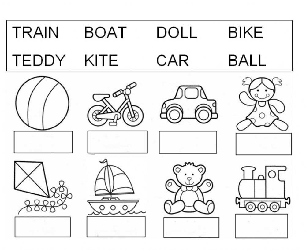 Toys Interactive And Downloadable Worksheet. You Can Do The pertaining to Alphabet Vocabulary Worksheets