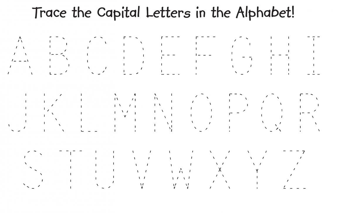 Trace Alphabet Letters For Children | Activity Shelter pertaining to Alphabet Tracing Dots