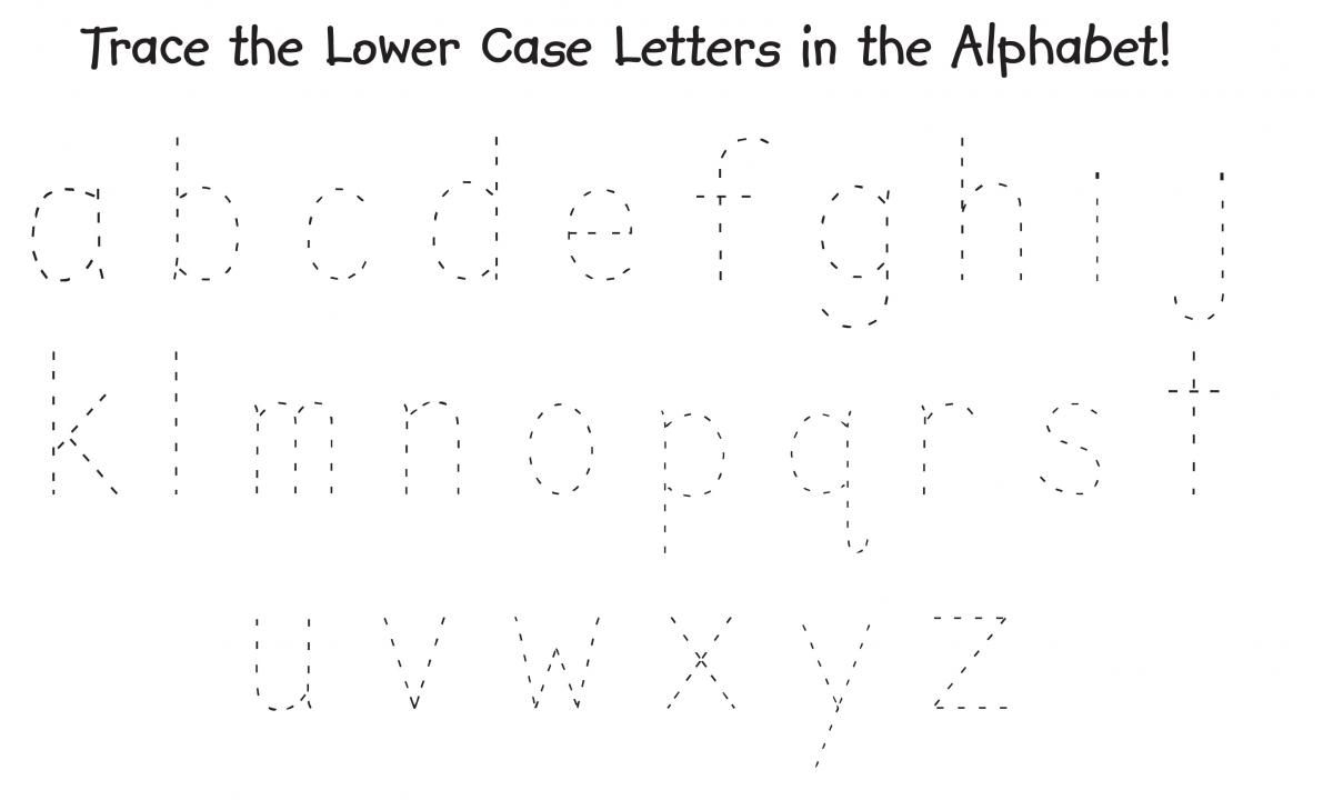 Trace The Alphabet Uppercase And Lowercase Printable throughout Uppercase Alphabet Tracing