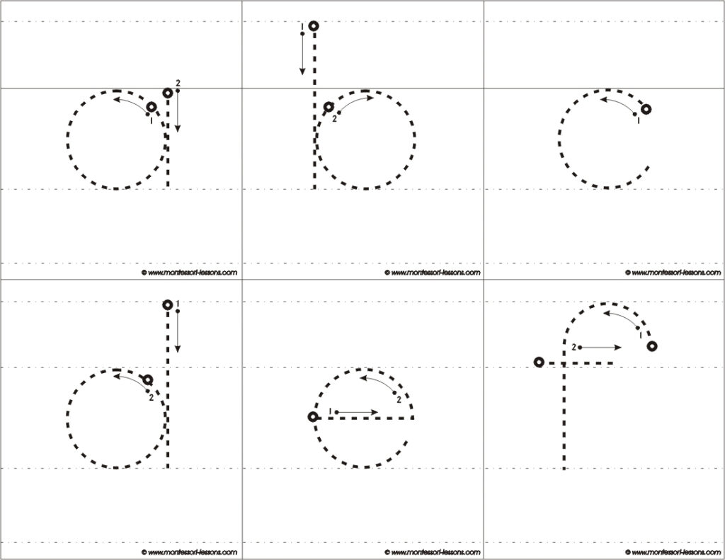 Tracing Big Letters, A Z In Alphabet Tracing Guide
