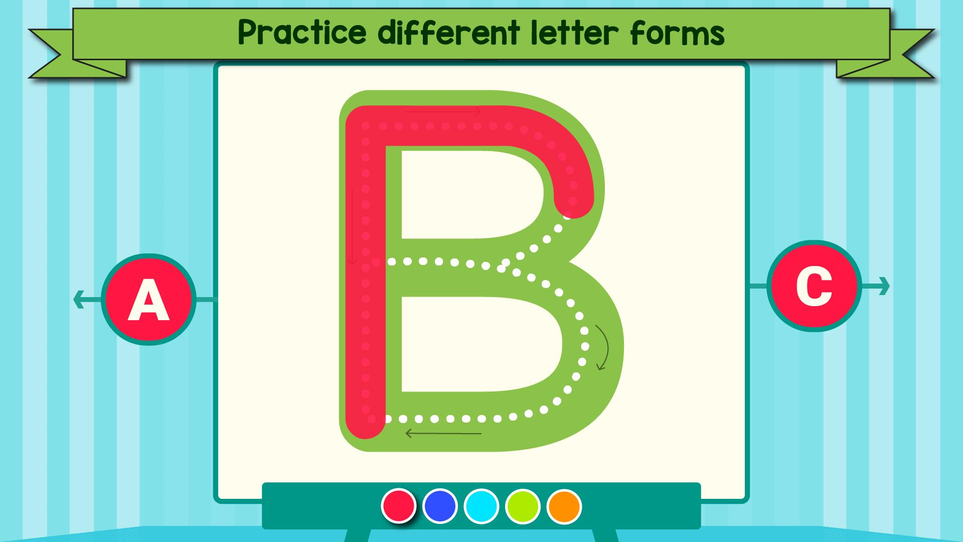 Tracing Letters & Numbers - Abc Kids Games For Android - Apk in Letter Tracing Games