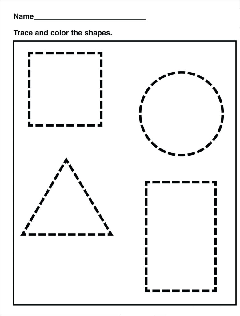 Tracing   Shape Tracing   Preschool / Free Printable Intended For Tracing Name David