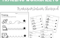 Tracing Worksheets Great For Distance Learning | Writing pertaining to Pre K Name Tracing Template