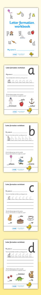 Twinkl Resources >> Letter Formation Workbook >> Printable With Letter S Worksheets Twinkl
