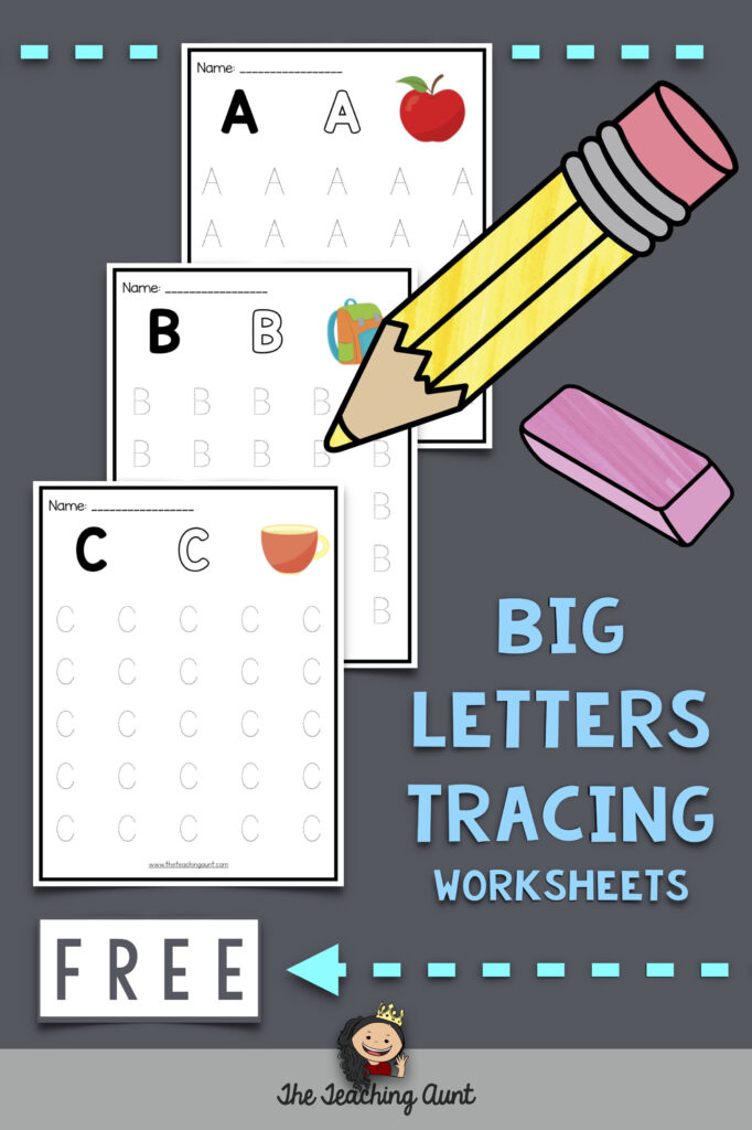 Uppercase Letters Tracing Worksheets (Set 1) In 2020 (With Within Letter Orientation Worksheets