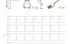Letter F Tracing Preschool