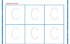 Alphabet Worksheets 4 Lines