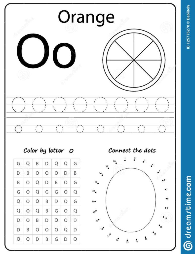 Worksheet ~ Alphabet Letter O Worksheet Task Kids Learning Regarding Letter O Worksheets Free