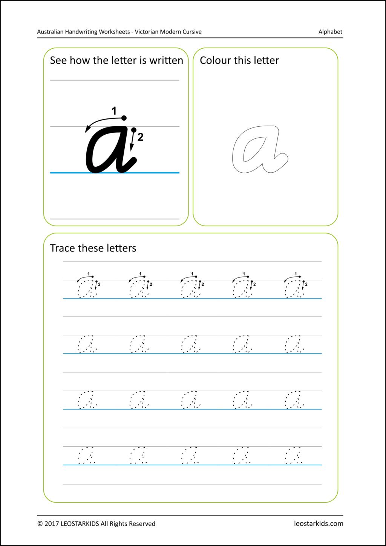 Worksheet ~ Australiandwriting Worksheets Victorian Modern intended for Name Tracing Worksheets Cursive