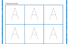 Alphabet Tracing Letters For Preschoolers