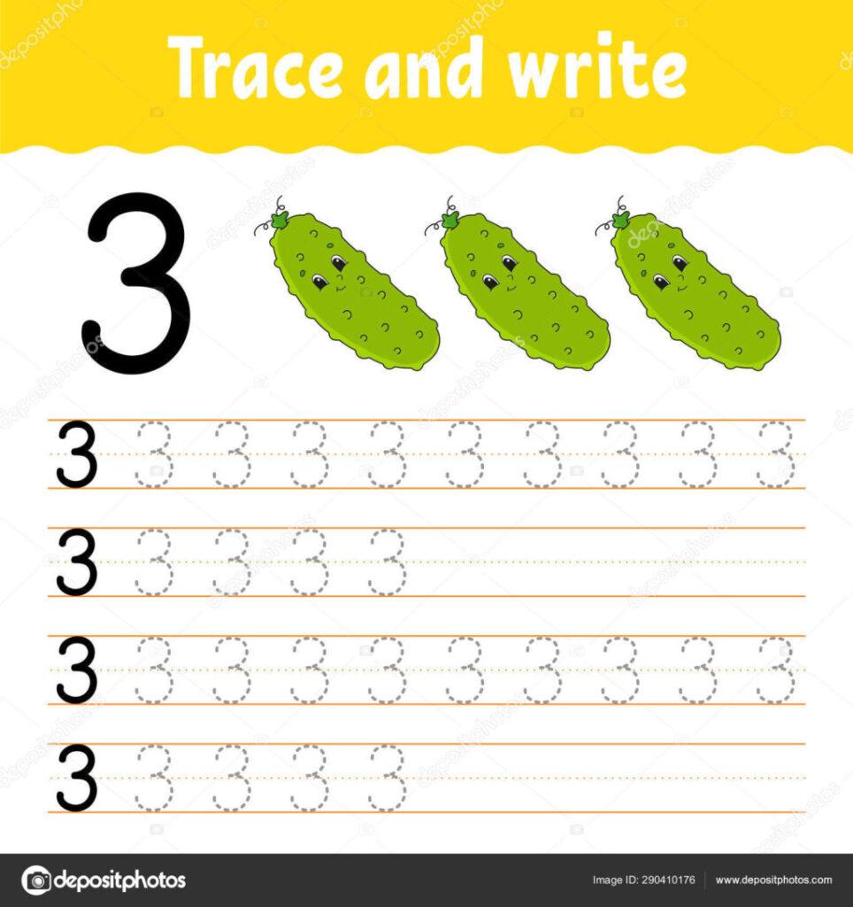 Worksheet ~ Depositphotos 290410176 Stock Illustration Trace Regarding Name Tracing Generator Cursive