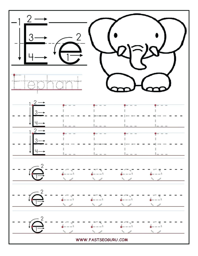 Worksheet Draw Line To Connect Letters | Printable Within Alphabet Worksheets Kidslearningstation