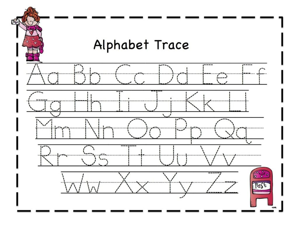Worksheet ~ Tracing Sheets For Preschoolids Alphabet Intended For Alphabet Tracing Sheets Printable