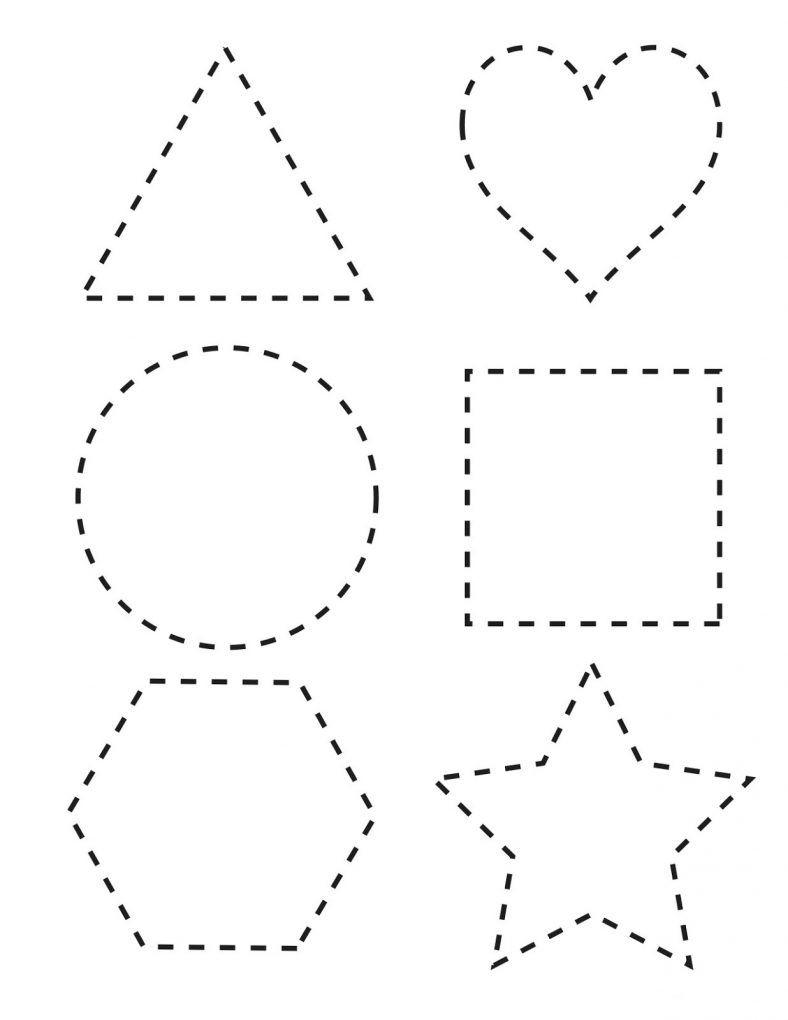 Worksheets For 2 Years Old Children | Preschool Tracing inside Alphabet Tracing Worksheets For 2 Year Olds