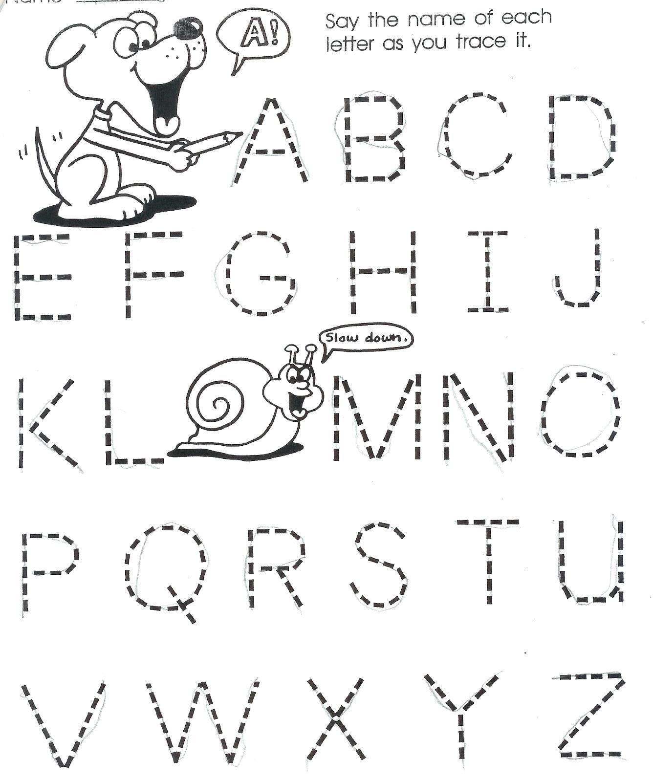 Worksheets For Year Old Letter Worksheet Letters Alphabet regarding Alphabet Worksheets For 2 Year Olds