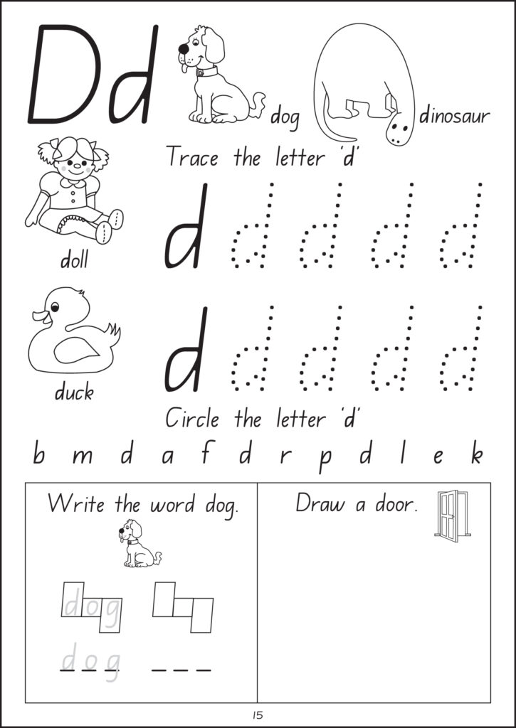 Wow! I Can Read Writing Workbook   Stage 1   Foundation Handwriting Inside Alphabet Tracing Nsw
