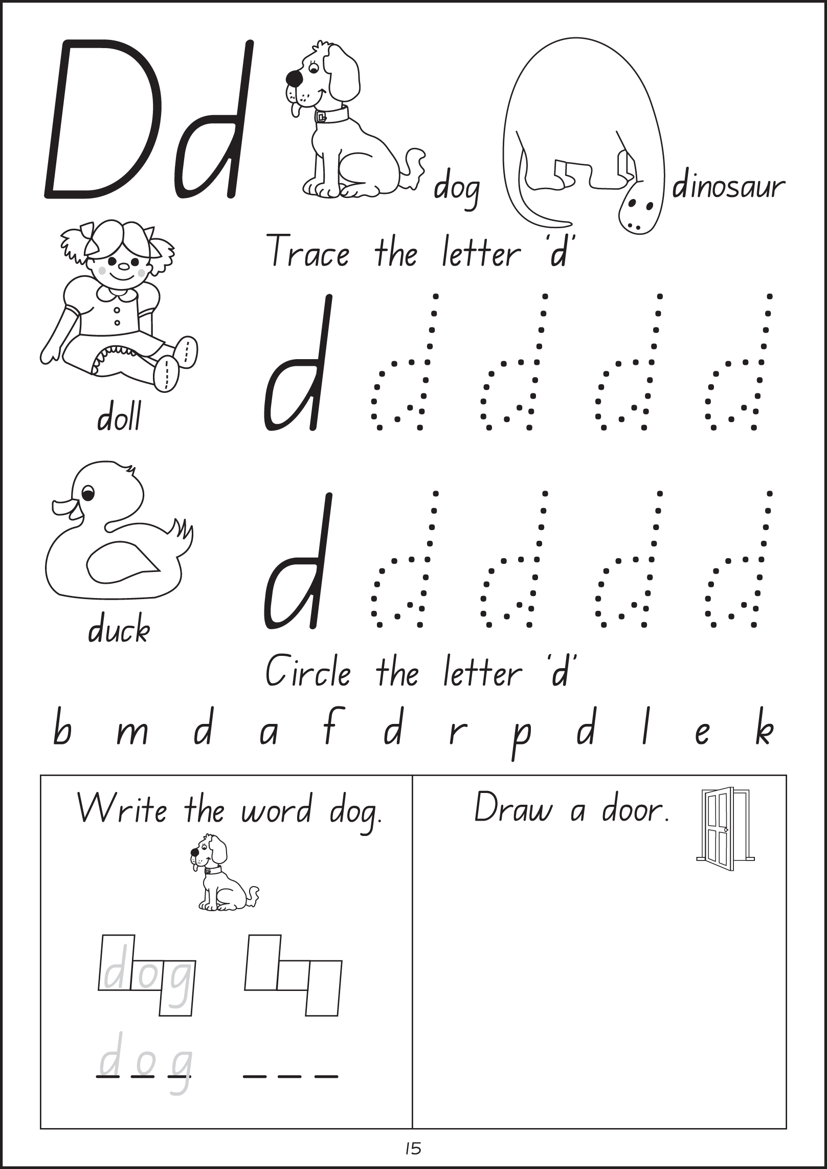 Wow! I Can Read Writing Workbook - Stage 1 - Foundation Handwriting inside Alphabet Tracing Nsw