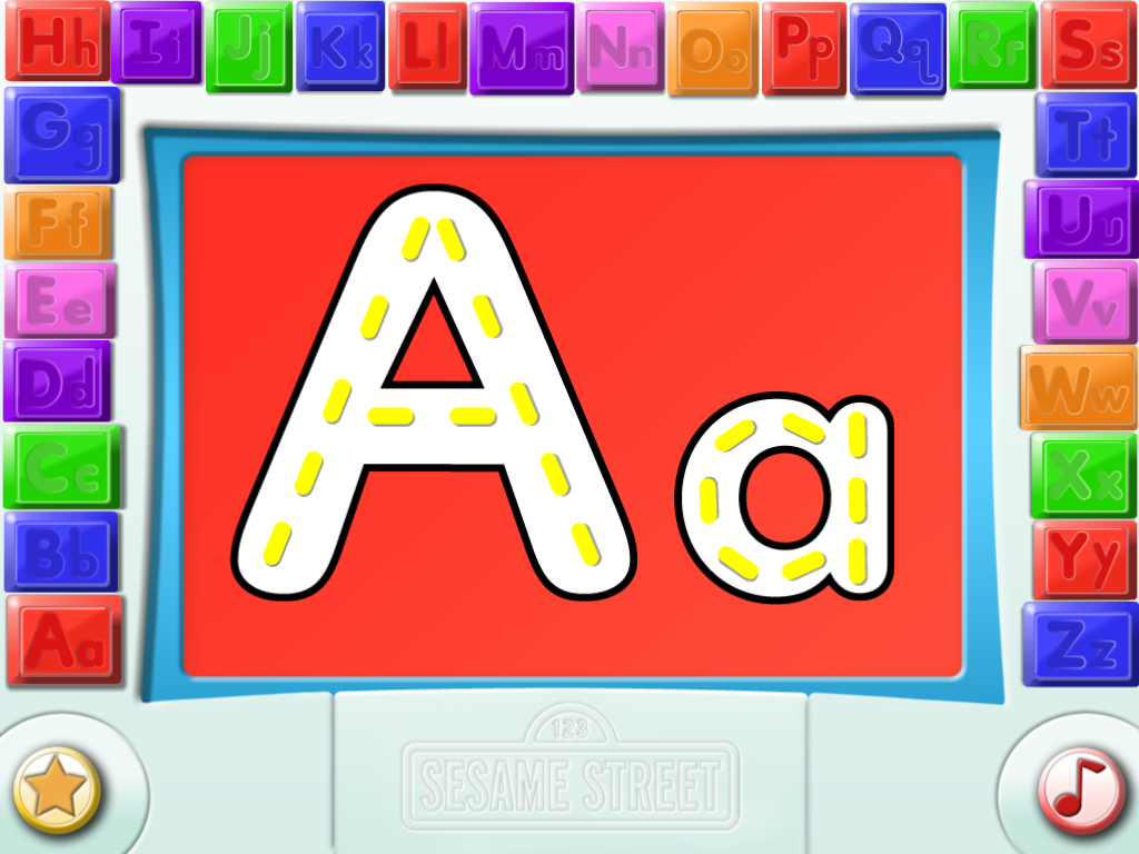 Writing | Abbeysvoice with Letter Tracing Video
