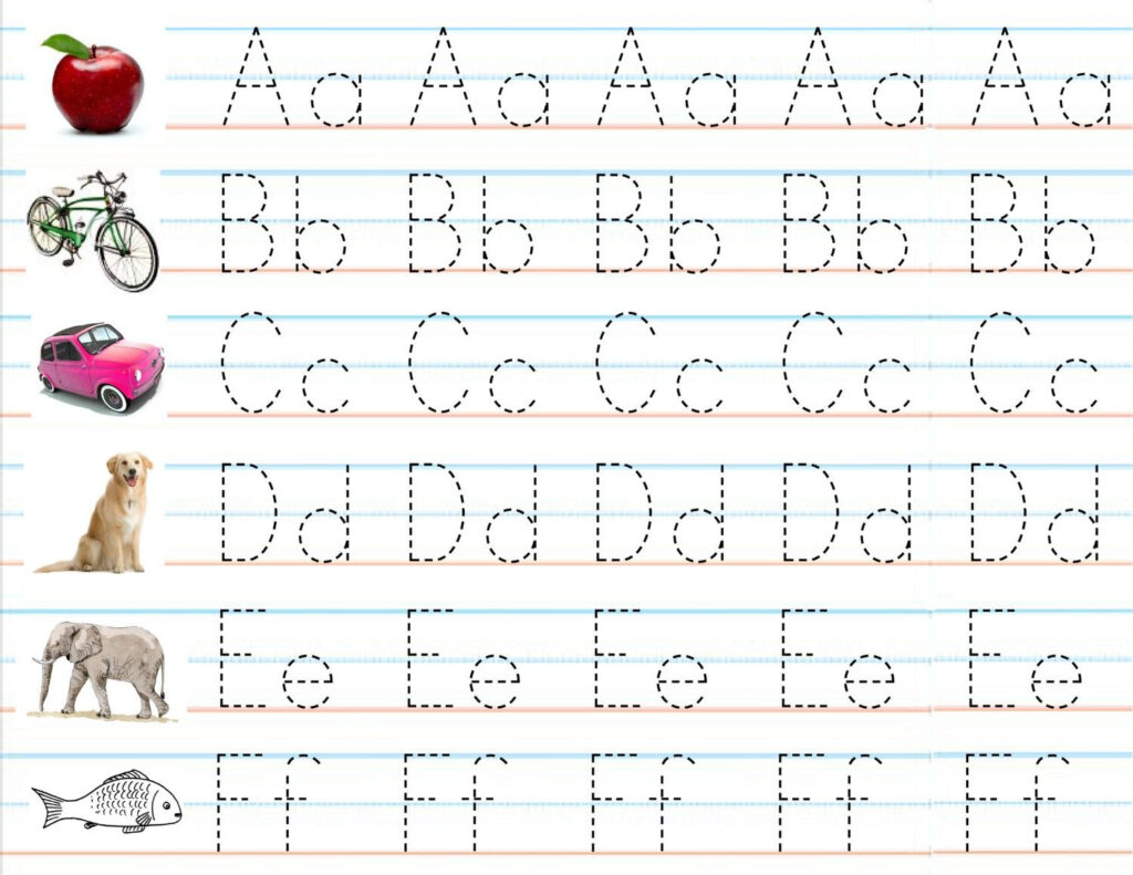 Writing Abc With Dots | Abc Worksheets, Writing Practice With Regard To Tracing Your Name With Dots