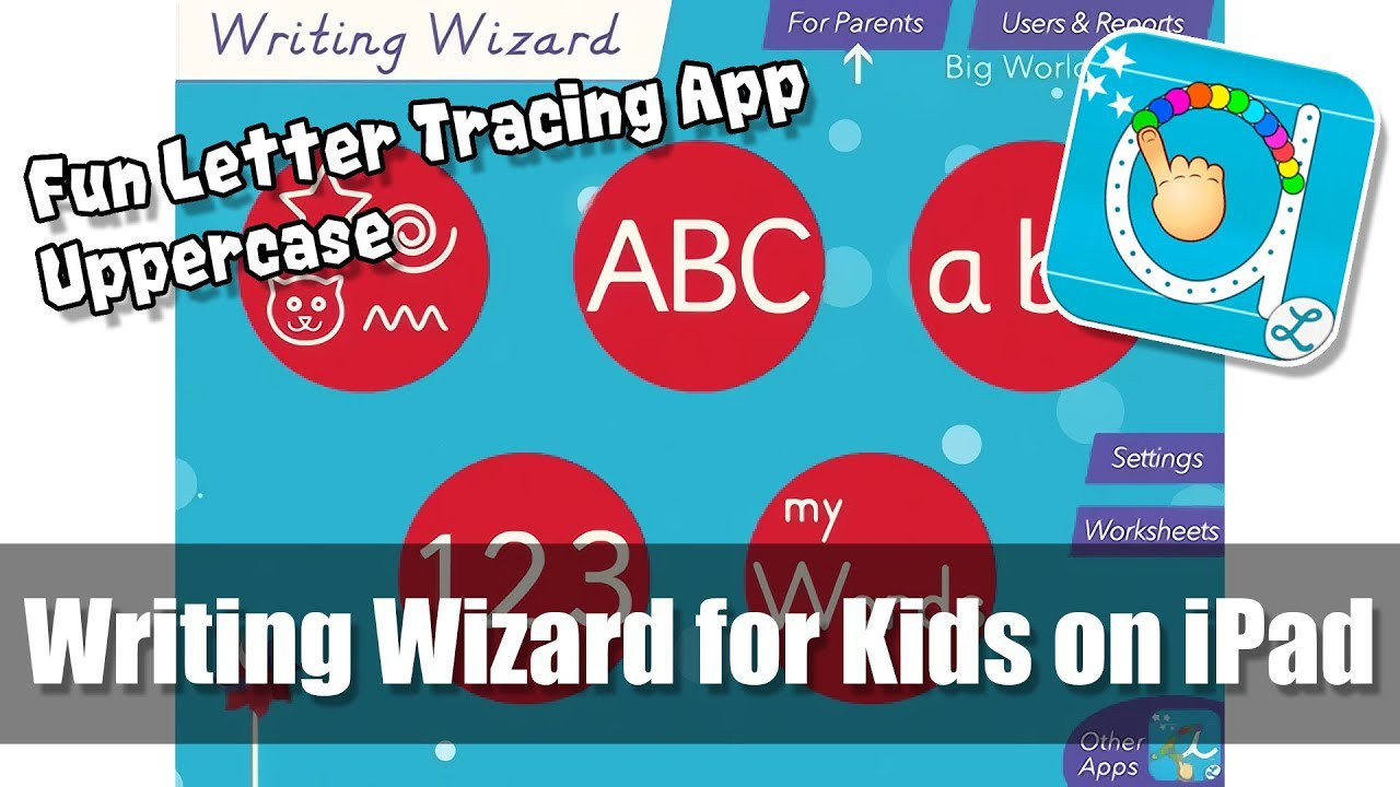 Writing Wizard For Kids On Ipad - Full Uppercase - Fun Letter Tracing &  Alphabet Learning App with Alphabet Tracing On Ipad