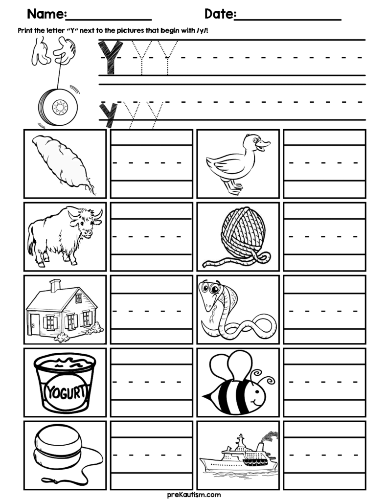 $1.99 | Worksheets For Practicing Initial Consonants: B, C Intended For Letter H Worksheets Soft School