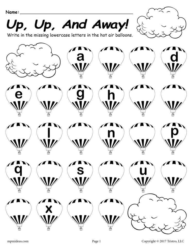 10 Alphabet Worksheets For First Grade In 2020 | Missing with regard to Alphabet Worksheets For First Grade