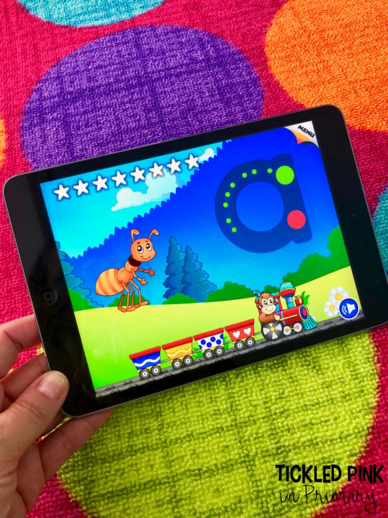 10 Free Kindergarten Ipad Apps   Kindergarten Apps, Ipad Throughout Alphabet Tracing Apps For Ipad