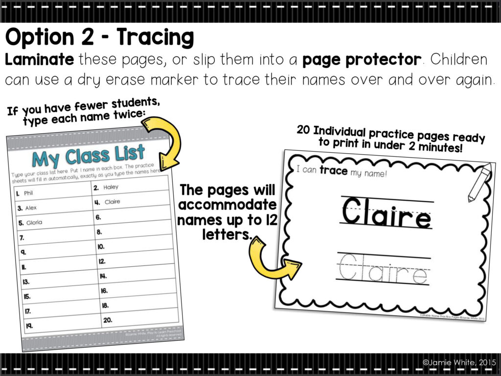 10 Ways To Help Children Master Name Writing   Play To Learn Inside Name Tracing Observation