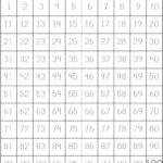 100 Trace | Tracing Worksheets, Numbers Kindergarten
