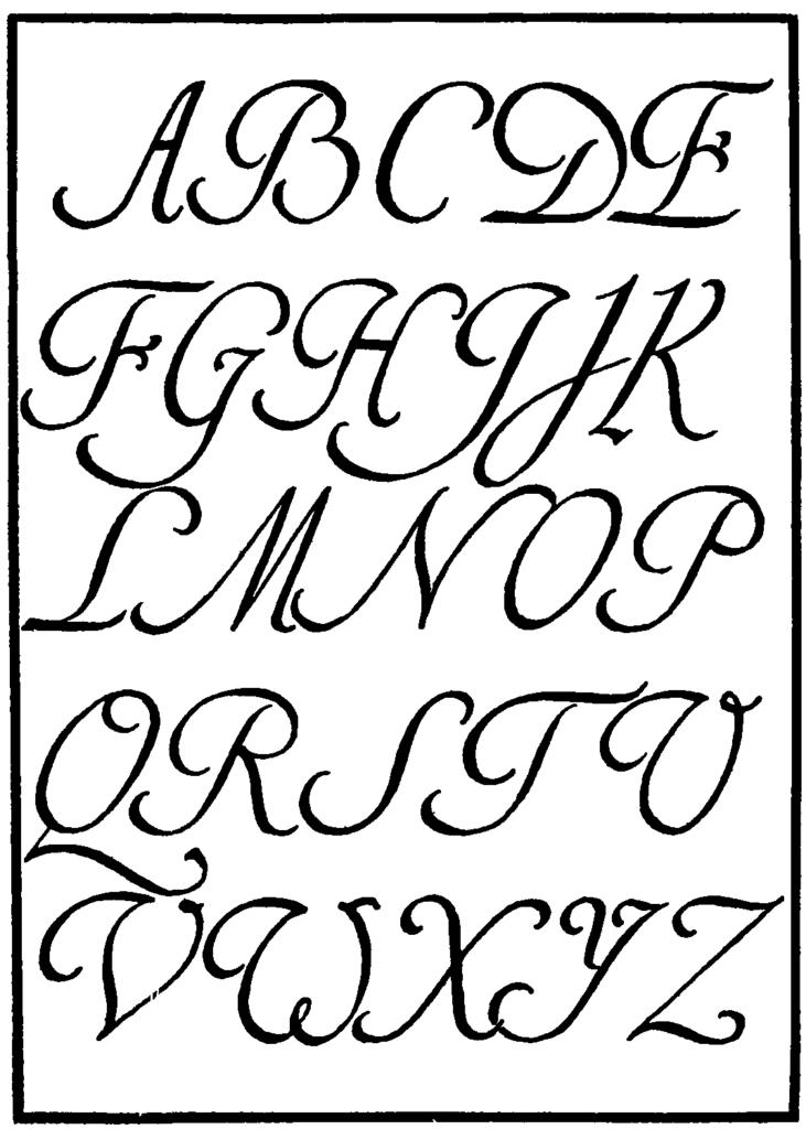 11 Spanish Calligraphy Font Images   Spanish Cursive Fonts
