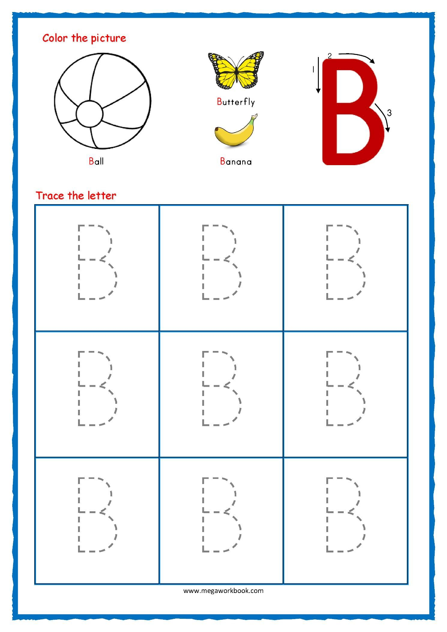 16 Printable Worksheets Alphabet Tracing In 2020 | Alphabet
