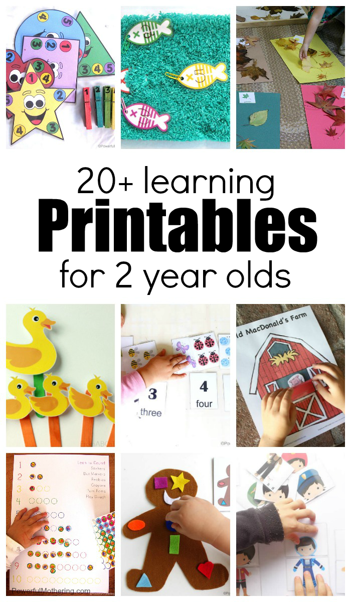 20+ Learning Activities And Printables For 2 Year Olds with Alphabet Worksheets For 2 Year Olds Pdf