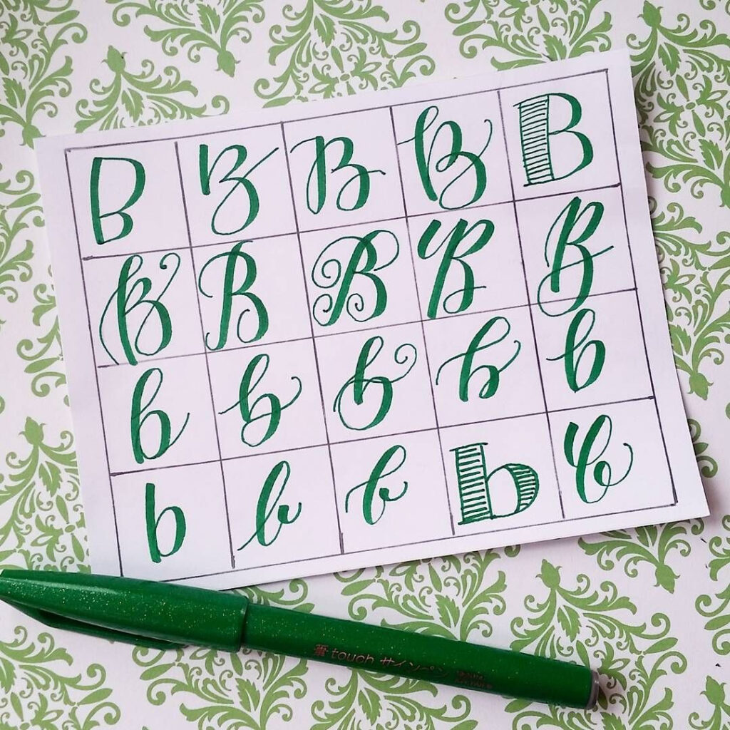 20 Ways To Write The Letter B@letteritwrite • See Also