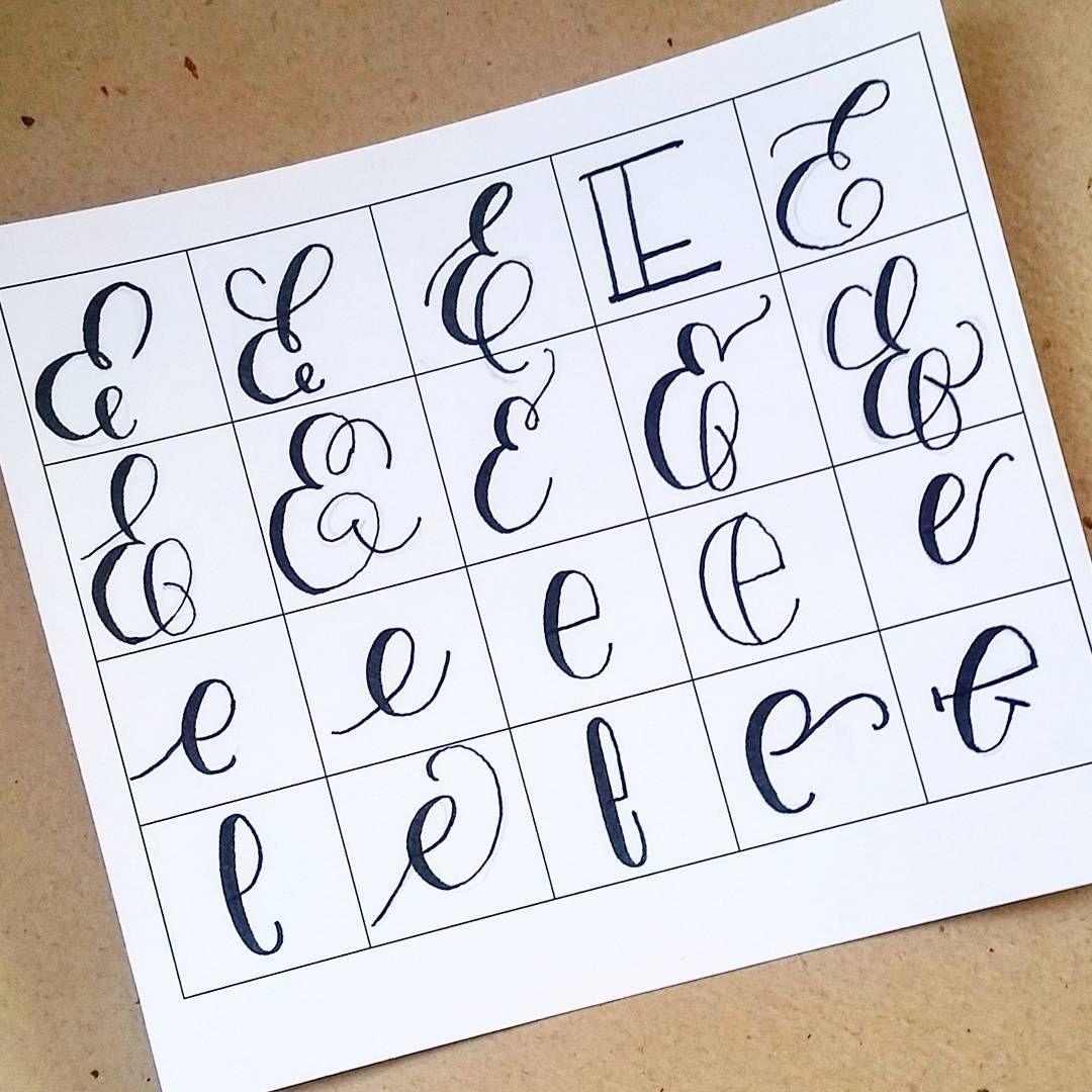 20 Ways To Write The Letter E@letteritwrite • See Also