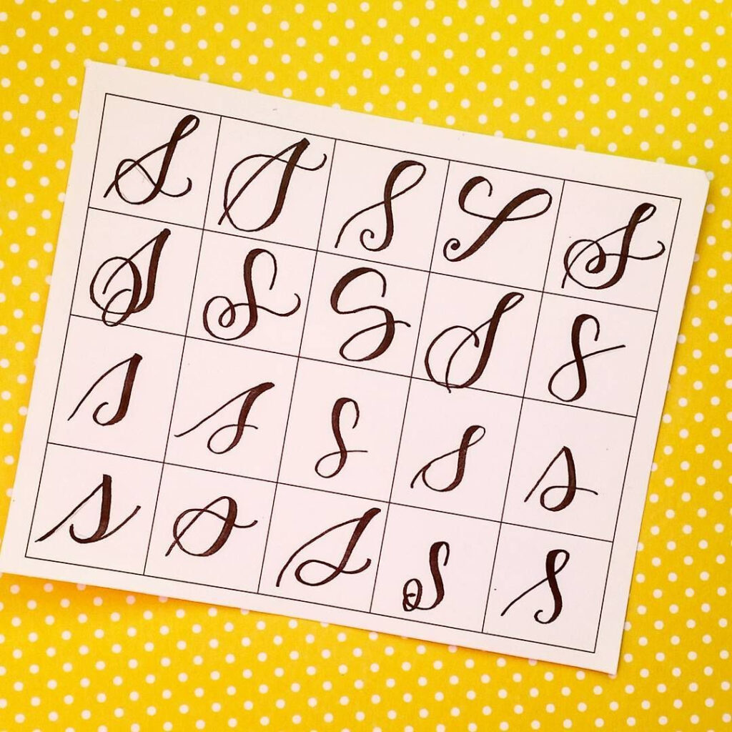 20 Ways To Write The Letter S@letteritwrite • See Also