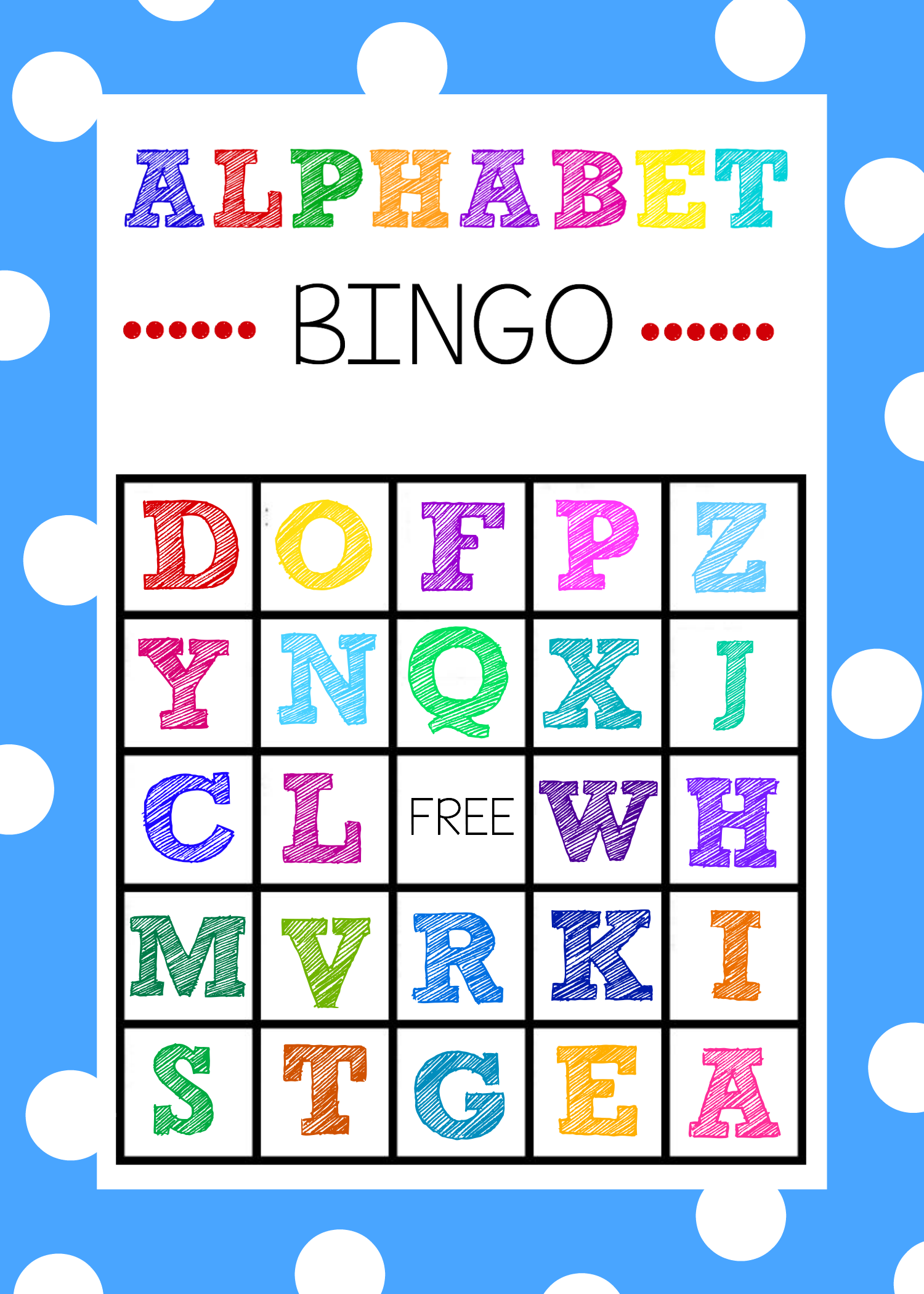 25+ Of The Best Summer Learning Activities | Alphabet Bingo in Alphabet Bingo Worksheets