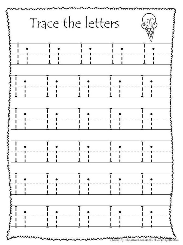 26 Printable Trace The Alphabet Worksheets. Preschool Kdg Within Alphabet Worksheets Pinterest