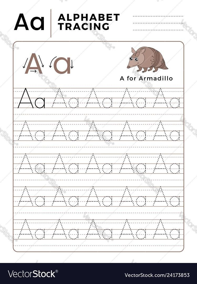 42 Tracing Letter Aa In 2020 | Lettering, Tracing Letters